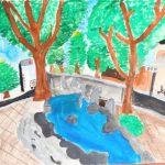 絵画・デザインコンペ「私の街、蕨の風景」ア―トむすび市賞
